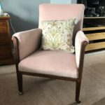 Reupholstered Old Chair
