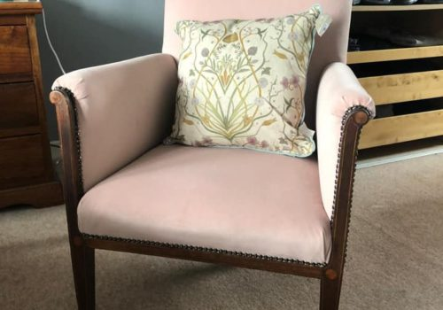 Re-Upholstered Easy Chair
